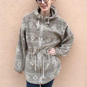 REI Jackets & Coats - Snowflake Winter Fleece Jacket Tsunami Sport